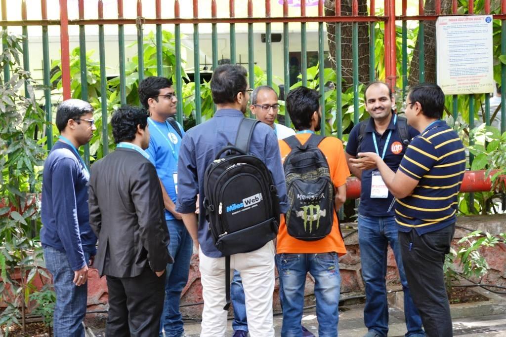 Rahul Bansal, Amit Kumar Singh, Nirav Mehta and Karthikraj Magapu.
