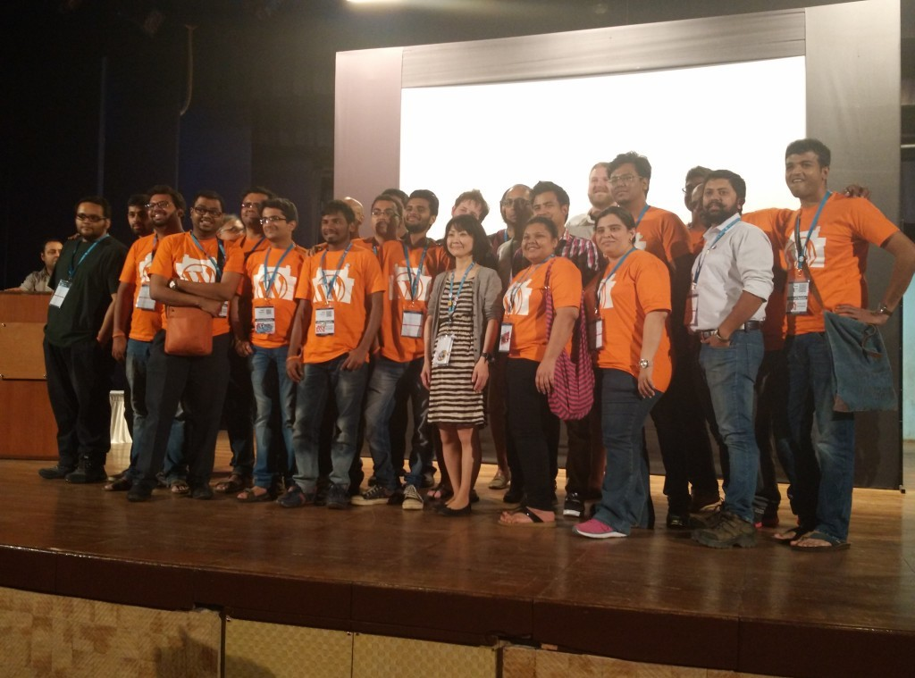 Organisers and volunteers