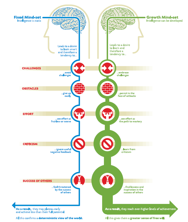 Growth mindset, Intelligence can be developed