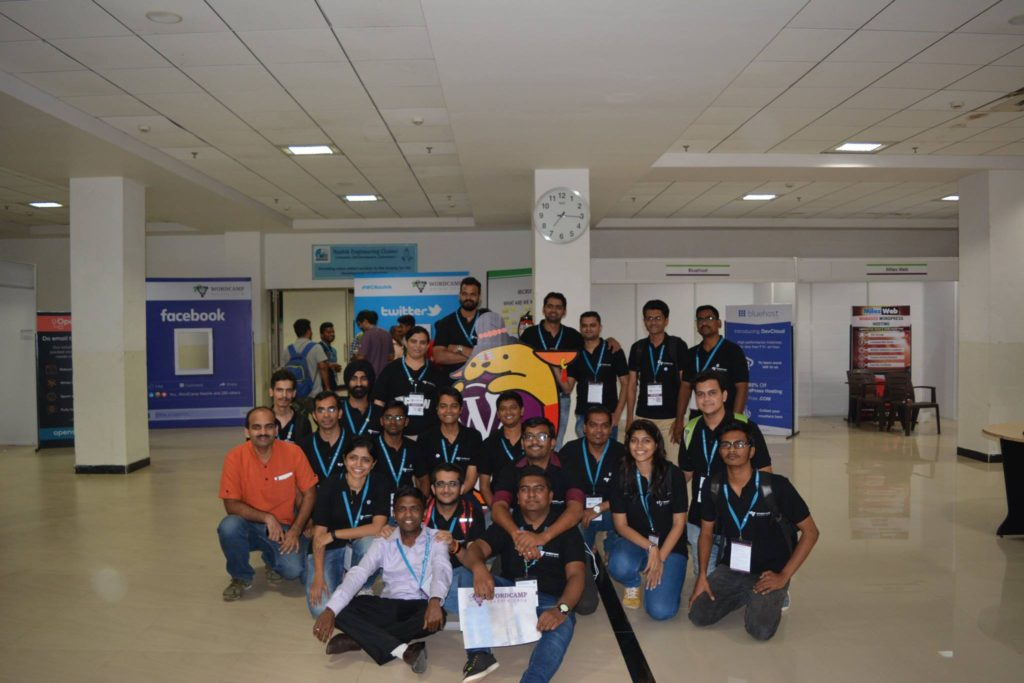 WordCamp Nashik 2016 Organizers and Volunteers